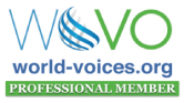 Katie DeGabriel Voice Actor wovo logo
